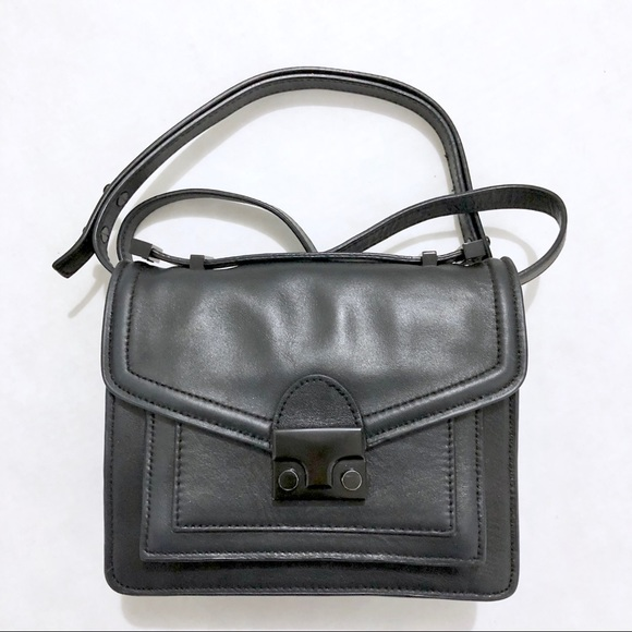 Loeffler Randall Handbags - EUC Loeffler Randall Black Mini Rider Bag